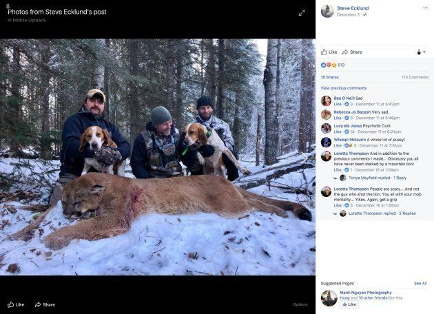 Canadian TV Host Steve Ecklund Sets Off Backlash After Killing Alberta