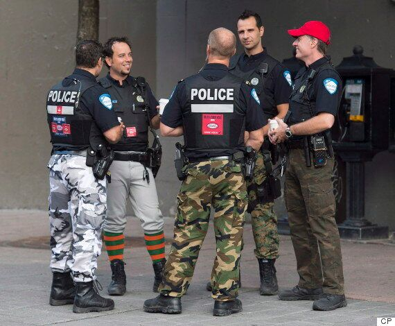 Montreal Officers Give New Meaning To The Term 'Fashion
