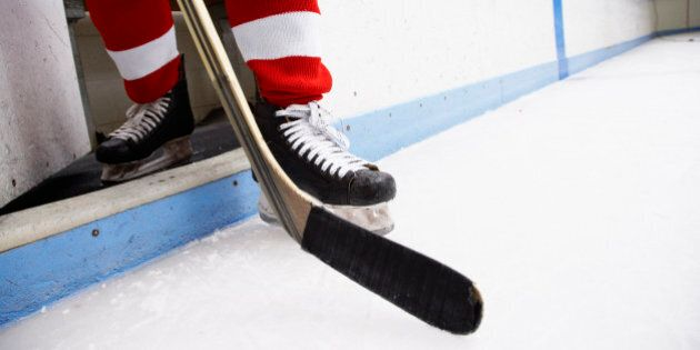 Adult Hockey Players' Spitting Problem Leads To Team's