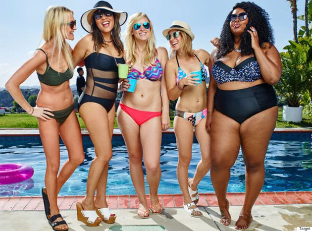 Target Releases Body-Positive Swimwear Campaign Featuring 'Real'
