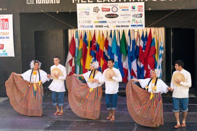 Hispanic Fiesta at Mel Lastman Square on Sept. 4,