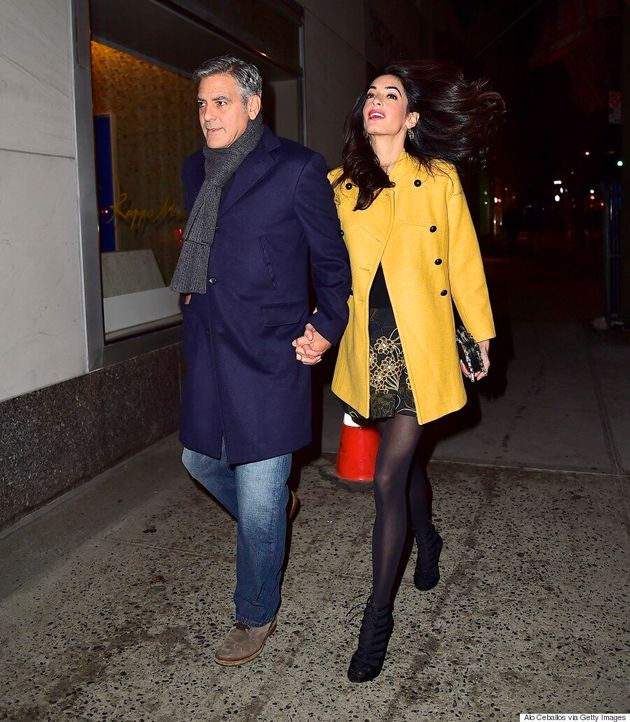 Amal Clooney's Date Night Outfit Is Super Chic,