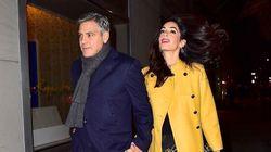 Amal Clooney's Chic Date Night