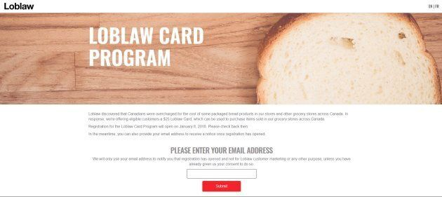 Canadians Demand More Than A $25 Gift Card From Loblaws For Bread
