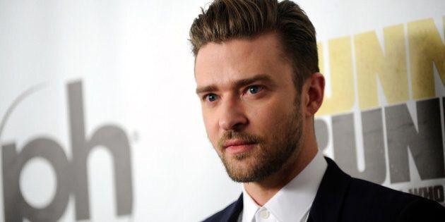 LAS VEGAS, NV - SEPTEMBER 18: Singer/actor Justin Timberlake arrives at the world premiere of Twentieth...