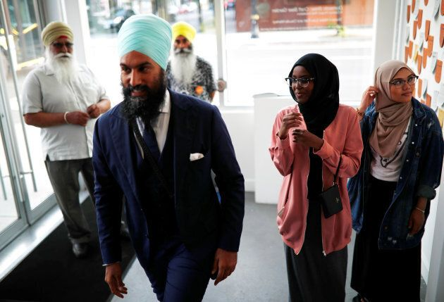 New Democratic Party federal leadership candidate Jagmeet