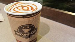 Second Cup Brews Up Widening