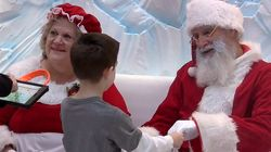 Silent Santa Makes Christmas Feel Safe For Kids With