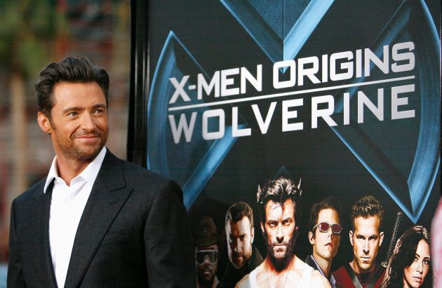 Cast member Hugh Jackman poses at an industry screening of