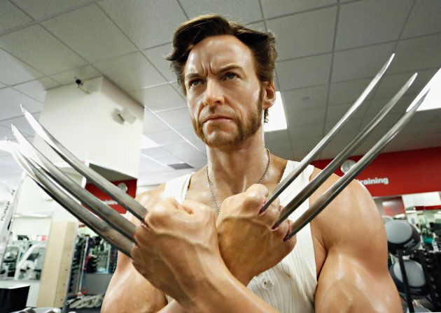 Madame Tussauds New York celebrates their 'Marvel Month of May' by unveiling a wax figure of 'Wolverine',...