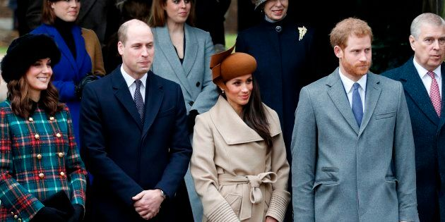 Catherine, Duchess of Cambridge, Prince William, Duke of Cambridge, actress Meghan Markle and Prince...