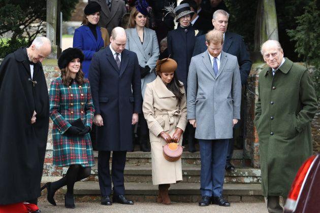 Princess Beatrice, Princess Eugenie, Princess Anne, Princess Royal, Prince Andrew, Duke of York, Prince...