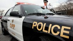 Ontario Police Officer Responds To Car Accident With Christmas