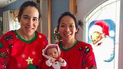 Canada-US Hockey Rivals Turned Moms Share Adorable Holiday