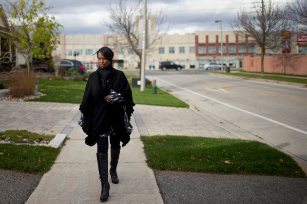 Celina Caesar-Chavannes in Whitby, Ontario on Nov. 12,