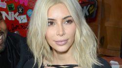 Kim Kardashian Dyes Her Hair