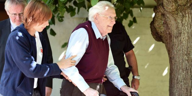 Oskar Groening, defendant and former Nazi SS officer dubbed