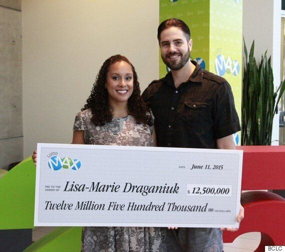 Lisa-Marie Draganiuk, Delta Woman, Wins $12.5-Million Lottery