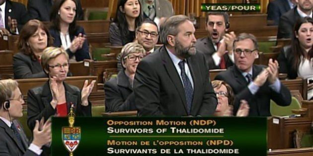 Parliament Broke its Promise to Thalidomide Victims Like