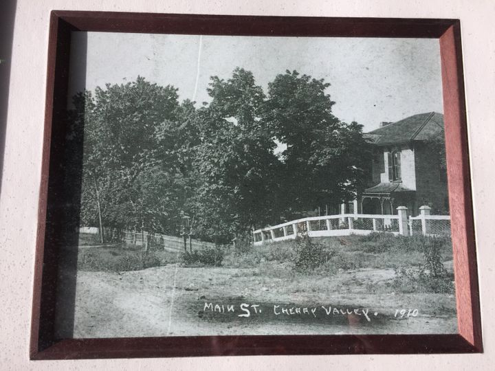 Rose Arbor in 1910.