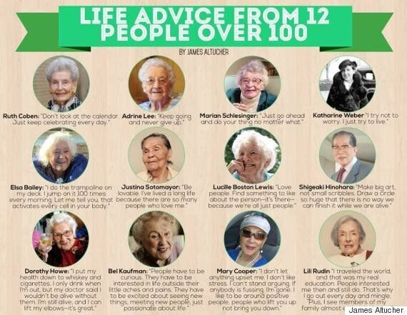 12 Centenarians Share Life Advice Gained From 100 Years Of