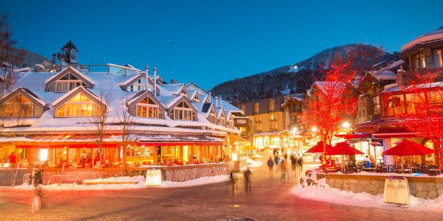 Whistler is the priciest place to spend New Year's Eve in Canada, according to a survey by