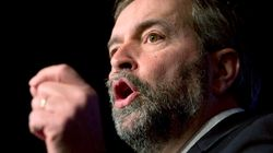 Mulcair Unveils New Economic