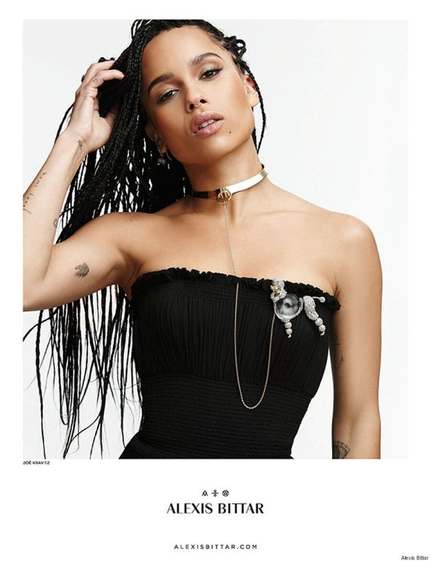 Zoe Kravitz Is The Face Of Alexis Bittar Fall 2015