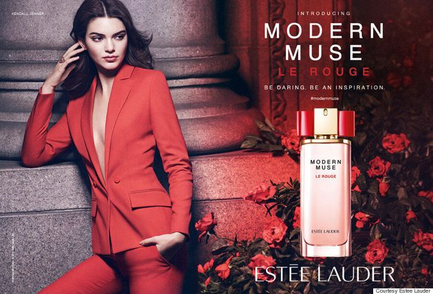 Kendall Jenner's First Estee Lauder Print Ad Is Here, And It's
