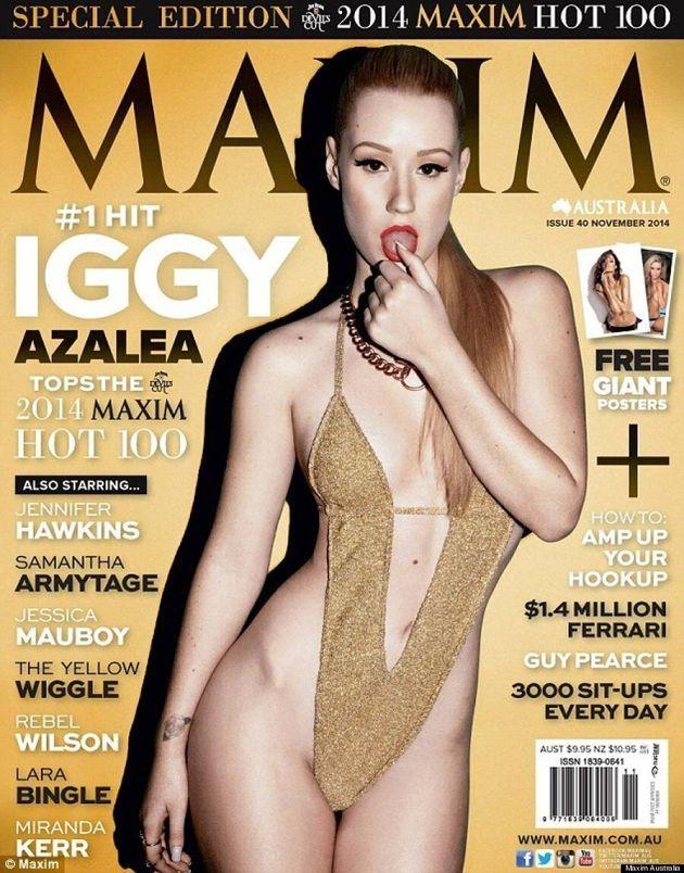 Iggy Azalea Is Very Angry Over Her Maxim Australia