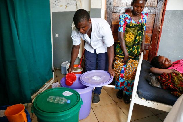 Clean Water Is The Only Charge For Giving Birth In This Delivery
