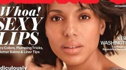 Kerry Washington Looks Gorgeous With A Bare