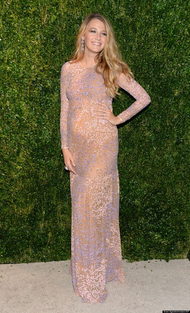 Blake Lively And Her Baby Bump Make First Red Carpet