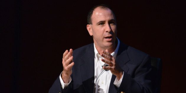 NEW YORK, NY - OCTOBER 18: Daily Columnist at nymag.com Jonathan Chait speaks during the Coming Republican...