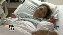 U.S. Mom Welcomes Twins Born In Different