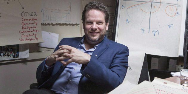 Albert Schultz is pictured in his office in Toronto's Young Centre for the Performing Arts on March 20,