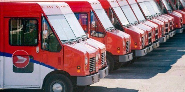 Canada Post Swings To Profit, Even As Mail Volume