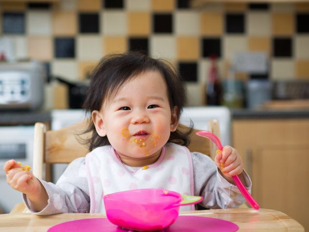 Babies Are Being Introduced To Solid Foods Too Soon, Says New