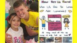 10-Year-Old Girl Makes $10,000 From Lemonade