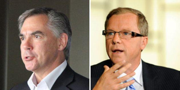 Alberta's Prentice, Saskatchewan's Wall Skipping Premiers' Trip To
