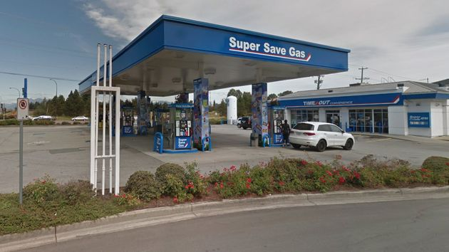A gas station in Richmond,