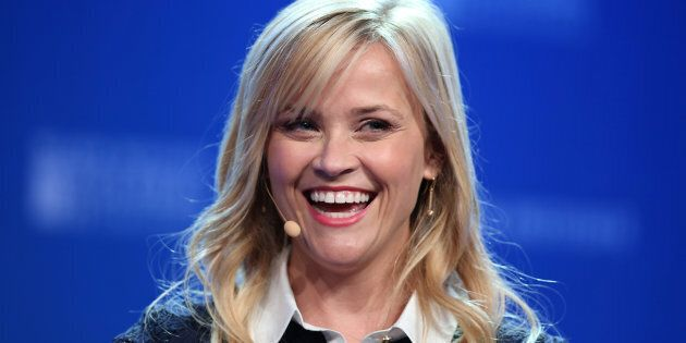 Actress and producer Reese Witherspoon one of the co-creators of the Time's Up