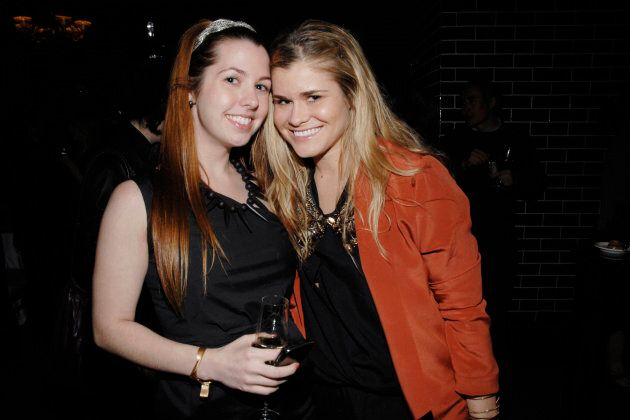 Haleigh Breest and Jessica Janik attend THE CINEMA SOCIETY with AMBROSI ABRIANNA on April 30, 2010 in...
