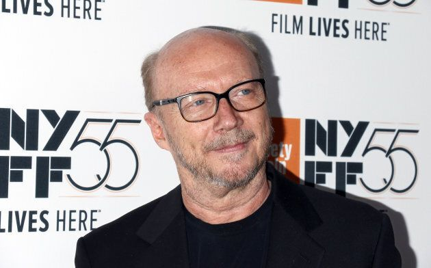 Writer/director Paul Haggis attends the 55th New York Film Festival on Oct. 5,