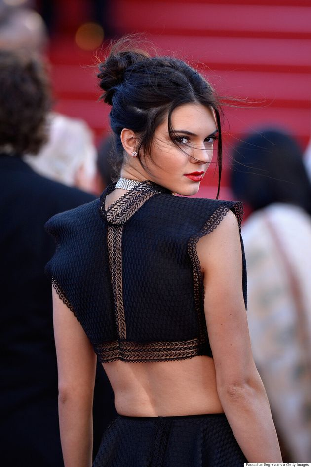 Kendall Jenner Rocks A Crop Top On The Cannes Red