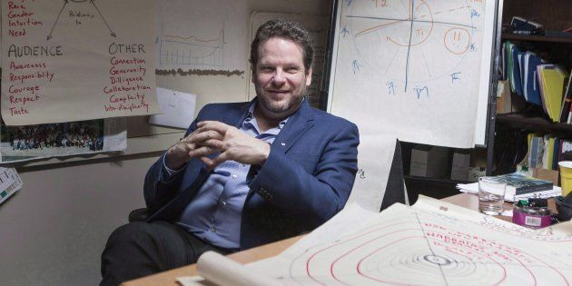 Director Albert Schultz is pictured in his office in Toronto's Young Centre for the Performing Arts on...