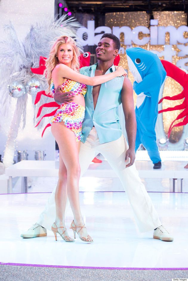 Charlotte McKinney Returns To 'Dancing With The Stars' In Sexy Fringed