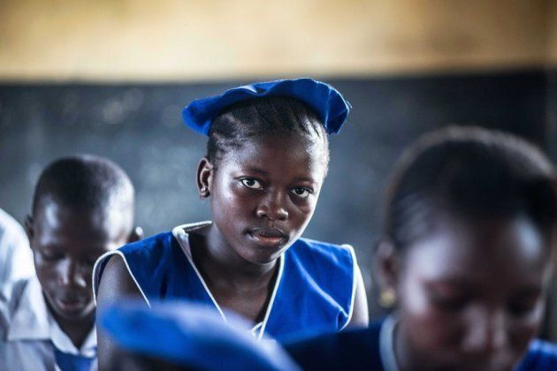 Warrah from Sierra Leone is now back in school thanks to the Girls' Education