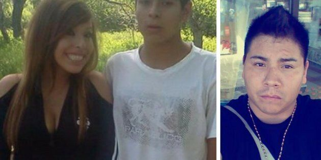 Siblings Clarissa and Dakota English, left, and Kyle Devine were murdered by Austin Vielle in Lethbridge,...