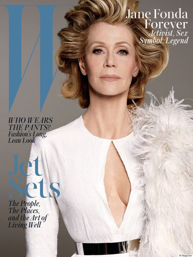 Jane Fonda's W Magazine Cover Is Absolutely